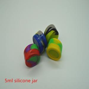 Frasco de silicona de 5 ml. Recipiente de cera. - Safecare