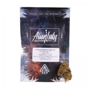 Alien Labs California cumple con mylar bolsas 3.5 gramos - Safecare